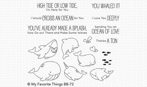 MFT STAMPS: BB Friends with Fins – Doodlebugs