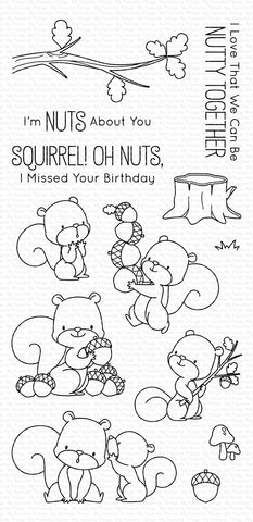MFT STAMPS: BB Squirrel!
