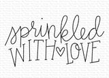 MFT STAMPS: Sprinkled with Love