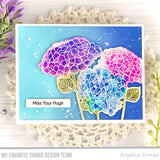MFT STAMPS: Hydrangeas in Bloom | Die-namics