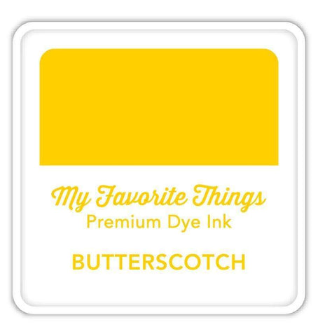 MFT STAMPS:  Premium Dye Ink Cube | Butterscotch