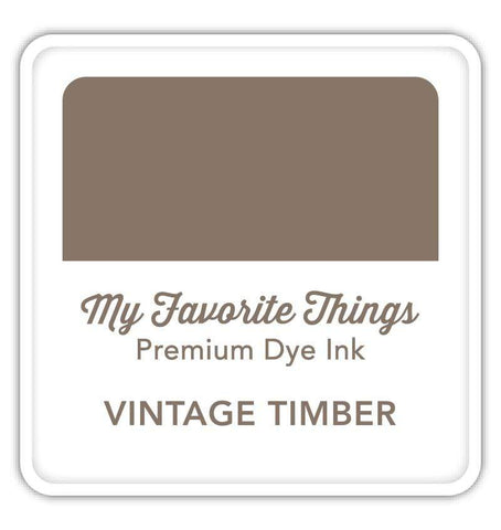MFT STAMPS:  Premium Dye Ink Cube | Vintage Timber