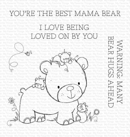 MFT STAMPS: RAM Many Bear Hugs Ahead | Stamp