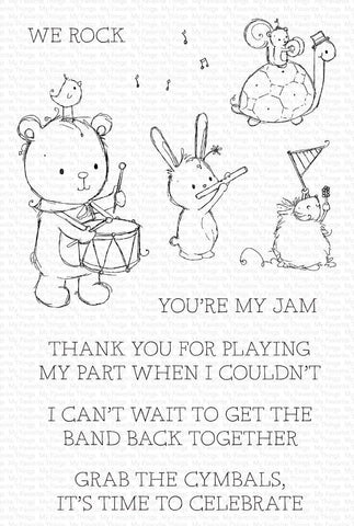 MFT STAMPS: RAM You're My Jam | Stamp