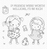 MFT STAMPS: RAM Million Dollar Friends | Stamp