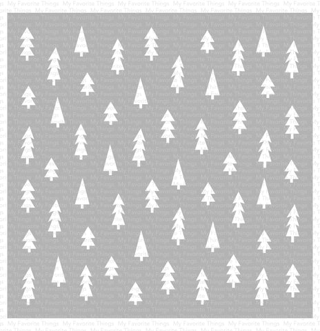MFT STAMPS: Pine Tree Forest | Stencil