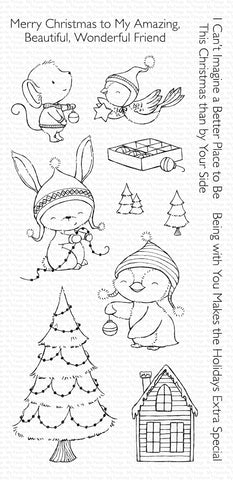 MFT STAMPS: SY Merry Wishes