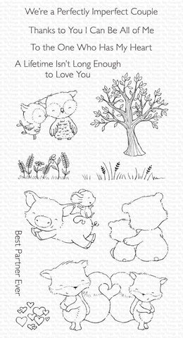 MFT STAMPS: SY Perfect Couple | Stamp