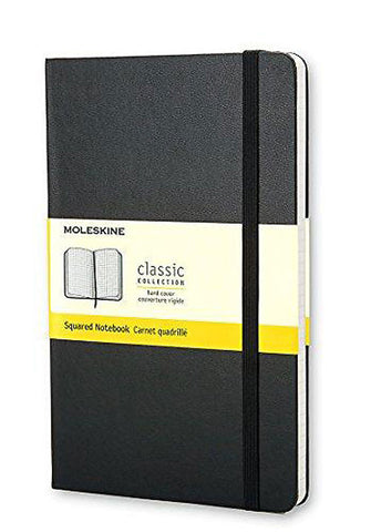 MOLESKINE: Hard Cover Squared Notebook
