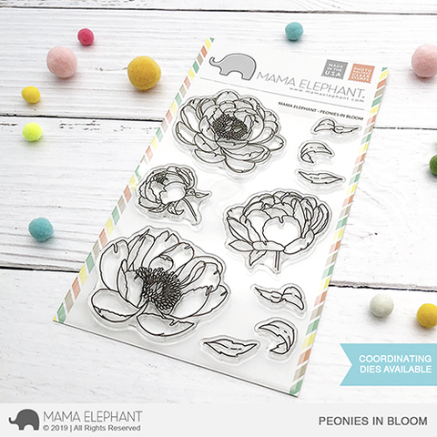 MAMA ELEPHANT: Peonies in Bloom