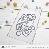 MAMA ELEPHANT: Summer Splash Creative Cuts