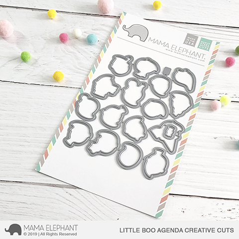 MAMA ELEPHANT: Little Boo Agenda Creative Cuts