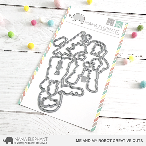 MAMA ELEPHANT: Me and My Robot Creative Cuts