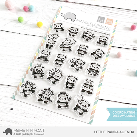 MAMA ELEPHANT: Little Panda Agenda