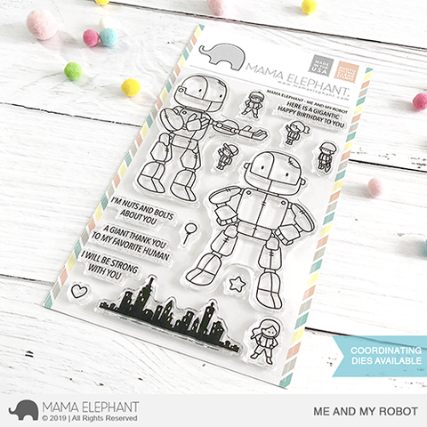 MAMA ELEPHANT: Me and My Robot