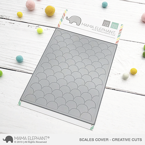 MAMA ELEPHANT: Scales Cover Creative Cuts