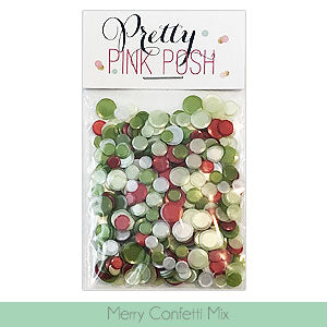 PRETTY PINK POSH:  Confetti (Merry Mix)