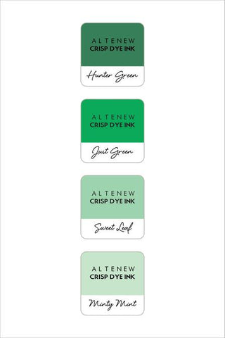 ALTENEW: Mini Dye Ink Cubes 4/pk (Green Meadows)