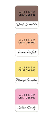 ALTENEW: Mini Dye Ink Cubes 4/pk | Four Scoops