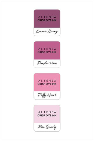 ALTENEW: Mini Dye Ink Cubes 4/pk (Rose Petal)