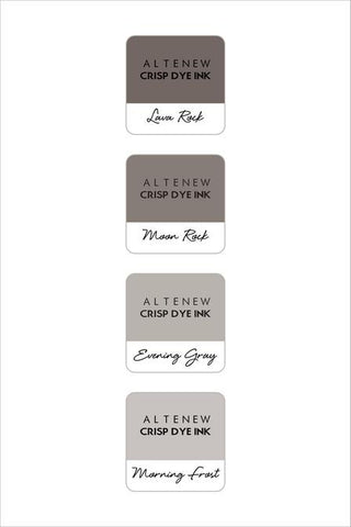 ALTENEW: Mini Dye Ink Cubes 4/pk (Warm Gray)