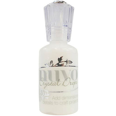 NUVO: Crystal Drops Gloss 1oz (White)