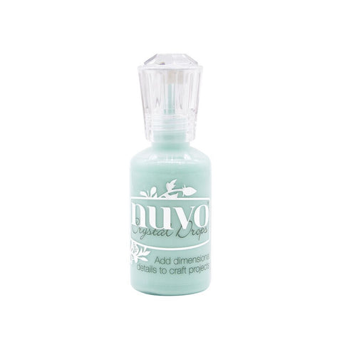 NUVO: Crystal Drops Gloss 1oz (Calming Aqua)