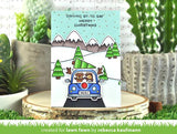 LAWN FAWN: Car Critters Christmas Add-on.