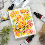 PINK FRESH STUDIO: Blushing Floral | Stamp