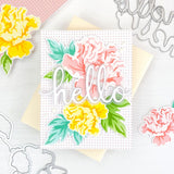 PINKFRESH STUDIO: Friendship Blooms | Layered Stencils