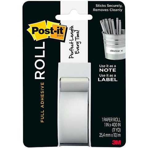 "Post-It Full Adhesive Roll 1""X400"""