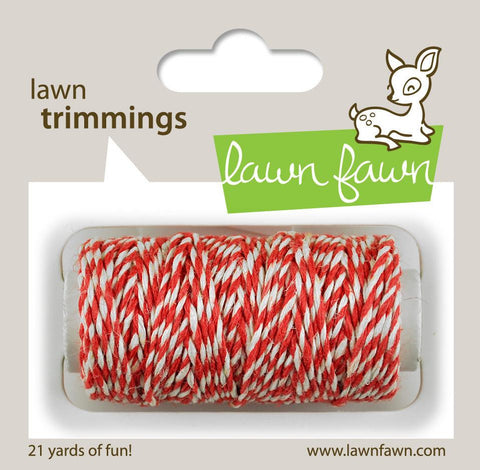 LAWN FAWN: Single Cord Twine (Peppermint)