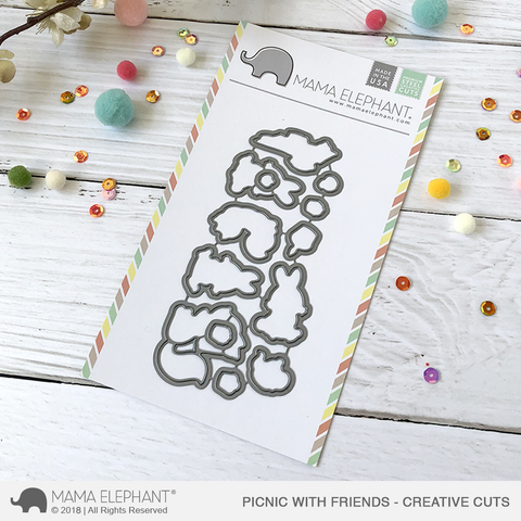 MAMA ELEPHANT: Picnic With Friends Creative Cuts