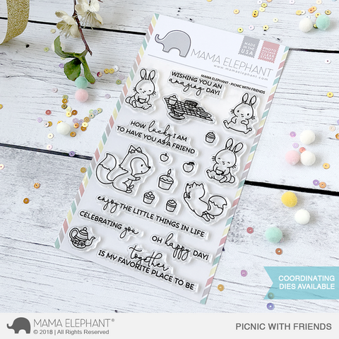 MAMA ELEPHANT: Picnic With Friends