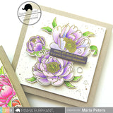 MAMA ELEPHANT: Peonies in Bloom Creative Cuts