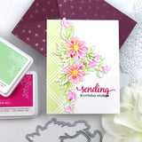 PINK FRESH STUDIO: Diamond Plaid | Layered Stencils