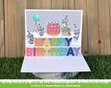 LAWN FAWN: Pop Up Happy Birthday | Lawn Cuts Die