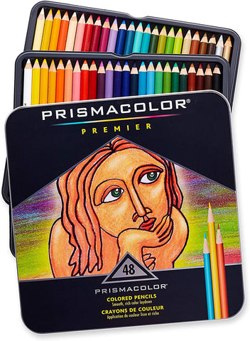PRISMACOLOR: Premier Colored Pencil Set | 48 Color Set