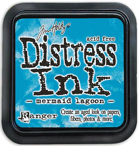 TIM HOLTZ: MINI Distress Ink Pad (Mermaid Lagoon)