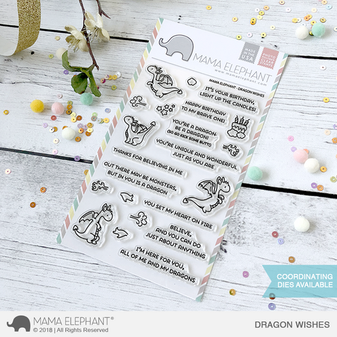 MAMA ELEPHANT: Dragon Wishes