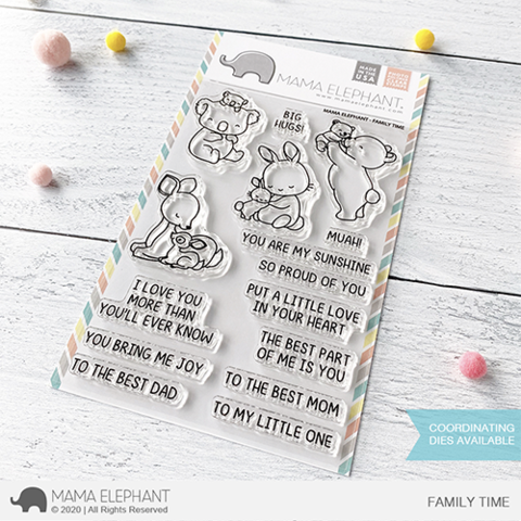 MAMA ELEPHANT: Family Time