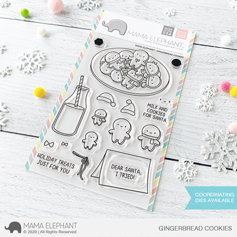 MAMA ELEPHANT: Gingerbread Cookies | Stamp