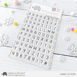 MAMA ELEPHANT: Kissie Letters | Stamp