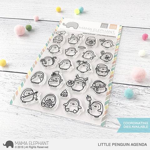 MAMA ELEPHANT: Little Penguin Agenda