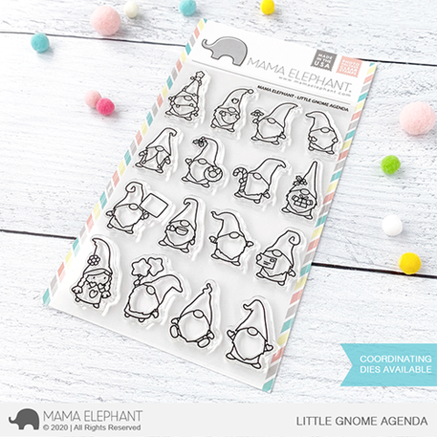 MAMA ELEPHANT: Little Gnome Agenda | Stamp