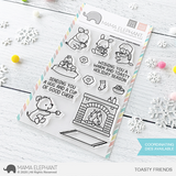 MAMA ELEPHANT: Toasty Friends | Stamp