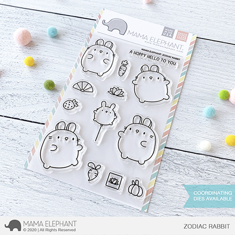 MAMA ELEPHANT: Zodiac Rabbit