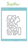 SUGAR PEA DESIGNS:  Fall Fox | Sugar Cut