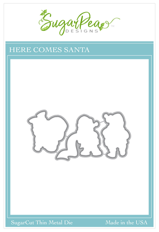 SUGAR PEA DESIGNS:  Here Comes Santa Claus | Sugar Cut
