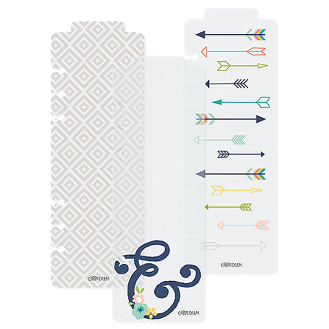 SIMPLE STORIES: CARPE DIEM Posh A5 Bookmarks